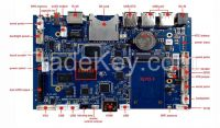 SMDT RK3188 Chip Quad Core ARM Control Board With PCI-E 3G Module for Indoor and Outdoor Digital Signage