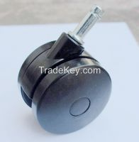 Twin furniture casters