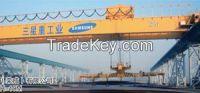 Electromagnetic bridge crane