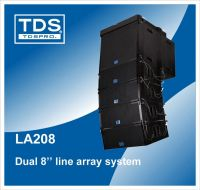 line array speakers (LA208)