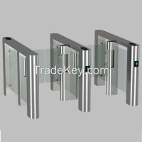 RFID access control automatic swing barrier gate/ Double way running s