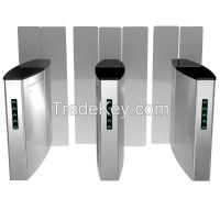 Flexible Gate Drop Arm Turnstile With Access Control System&Software