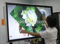 High quality 32 touch points multi touch infrared all in one pc touch screen monitor for education, lecture, business meeting