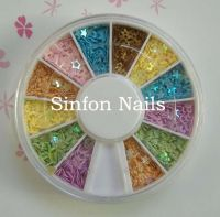 Nial art:Glitter shape