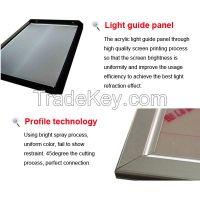 High quality double side led slim light box
