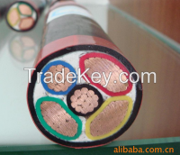 Cu conductor PVC insulated PVC/PE  sheathed power cable