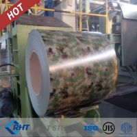 PPGI coil from China manufacturer exported to Korea