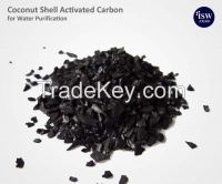 Activated carbon coconut coal pre-filters as water purifiers