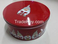Sweets Tin Can for Christmas