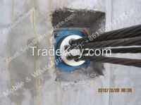 Prestressed Anchor Head And Wedges