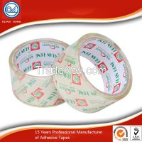 Water based acrylic BOPP Self Adhesive Tape for industrial