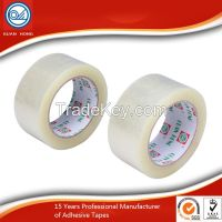strong adhesive carton sealing products clear colored Bopp packing tape for packaging