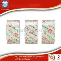 Stationery Self Adhesive Tape Pure Crystal Clear for Office / Workshop