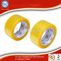 Customized Super Clear BOPP Packaging Tape With Water Base Acrylic Adhesive