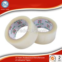 Clear BOPP Packing Tape / Carton Sealing Tape With Acrylic Adhesive Industrial