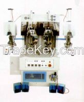 Double cool and hot shoe heel moulding machine