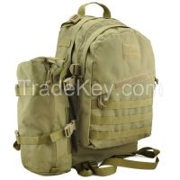 tactical military backpack Camouflage Backpack with molle system super capacity 3P Attack Molle Assault