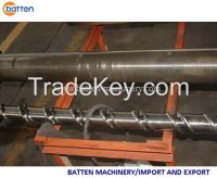 38D High Capacity Single Screw Barrel for HDPE PIPE Extruder