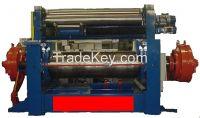 Hydraulic pressure drive mixing mill