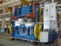 Hydraulic pressure type curing press