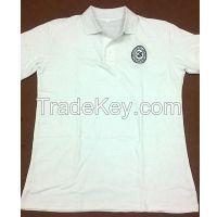 Custom made cotton fabric polo shirts