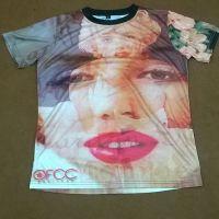 Sublimation printing t shirts