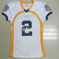 Custom made american football jersey