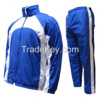 Track suits, custom made jogging suits.