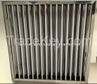 baffle grease filter