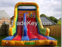 2015 High quality inflatable slide giant inflatable slide for adult mini slide for kids for sale