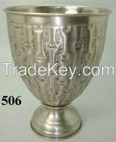 Aluminium Iron Brass Flower Vase