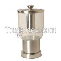 Brass, Aluminium, Iron, Steel, with Glass, Beverage Dispenser