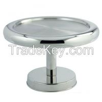 Brass, Aluminium, Iron, Steel, with Glass, cake stand