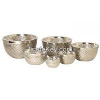 Brass, Aluminium, Iron, Steel, Serving Bowls