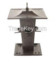 Aluminium, Brass, Iron, Steel, Bird Feeder