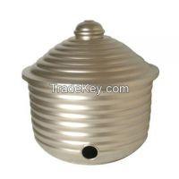 Aluminium, Brass, Iron, Steel, Hose Pot