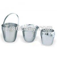 Aluminium, Brass, Iron, Steel, Ice Buckets