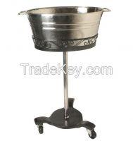 Aluminium, Brass, Iron, Steel, Beverage Tubs