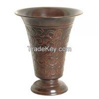 Aluminium, Brass, Iron, Steel, Iron Flower Vases
