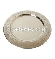 Aluminium, Brass, Iron, Steel, Charger Plates