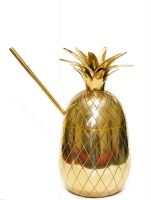 Brass Pineapple Mug