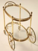 Wheel Bar Cart