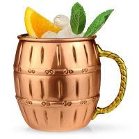 Moscow Mule Copper Barrel Mug 16 oz