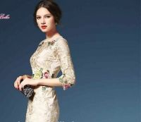 fashion women dresses summer lady party dresses