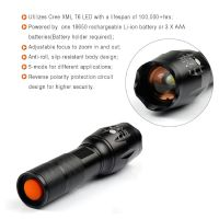Flashlight LED Military Torch