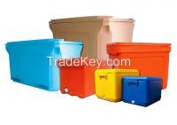 Cooler box Insulated Ice container Plastic Tubs