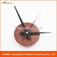 Wall clock with number, fashion sticker clock for home decor