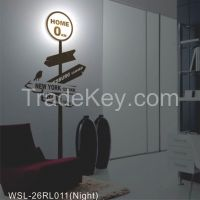 led wall sticker lamp, DIY wall lamp for home decor