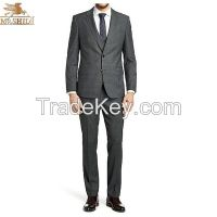 tailor made top quality man suit with wool fabric