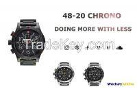 100% genuine watches quartz, chronograph, stainess steel, NIXON